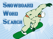 Snowboard Word Search