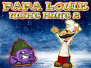 Papa Louie Night Hunt 2