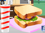 Club Sandwich Decoration
