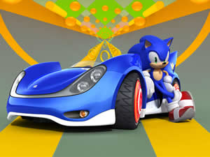 Sonic Racing Puzzle