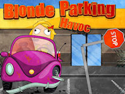 Blonde Parking Havoc