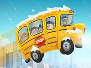 New Winter School Bus