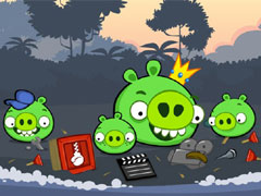 Angrybird Destroy Bad Piggies