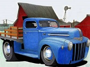 Truck Cartoon Jigsaw