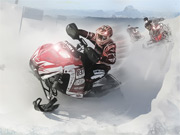 New Snowmobile Winter Racing