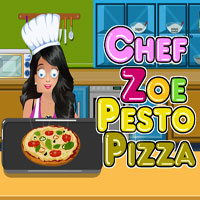 Chef Zoe - Pesto Pizza