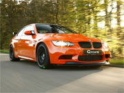 Drifting BMW M3 GTS