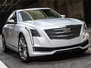 White Cadillac CT6 2016