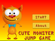 Cute Little Monster Jump Game
